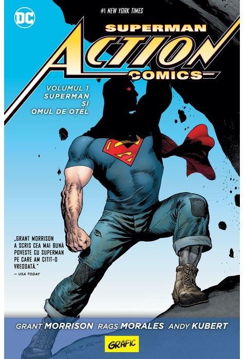 Superman Action Comics #1: Superman și omul de oțel