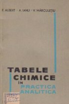 Tabele chimice in practica analitica
