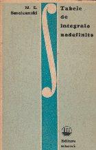Tabele de integrale nedefinite (traducere din limba rusa, dupa editia a IV-a)