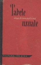 Tabele matematice uzuale - Editia a III-a (1965)