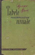 Tabele matematice uzuale, Editia a II-a 1963