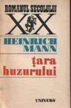 Tara huzurului - Un roman din lumea buna