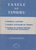 Taxele timbru Legislatie Volumul