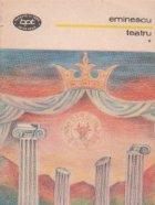Teatru, Volumele I si II
