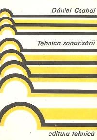 Tehnica sonorizarii (traducere din limba maghiara)