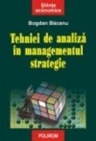 Tehnici de analiza in managementul strategic