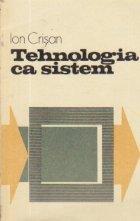 Tehnologia ca sistem