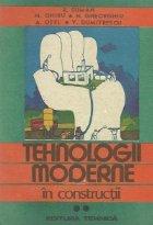 Tehnologii moderne in constructii, Volumul al II-lea