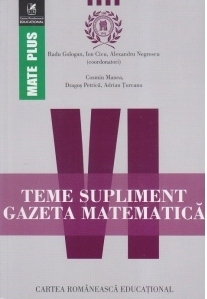 Teme supliment. Gazeta Matematica. Clasa a VI-a