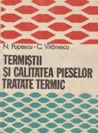 Termistii calitatea pieselor tratate termic