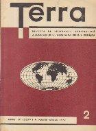 Terra, Revista a Societatii de St. Geografice din R. S. Romania, Nr. 2 - Martie-Aprilie 1972