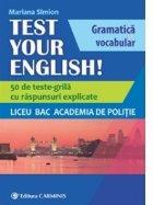 Test Your English Gramatica vocabular