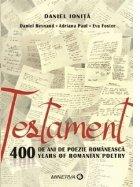 Testament. 400 de ani de poezie romaneasca/400 years of romanian poetry