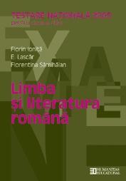 Testare Nationala 2006. Limba si literatura   Clasa a VIII-a