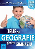 Teste de Geografie pentru gimnaziu - Clasa a V-a