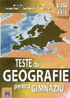 Teste de Geografie pentru gimnaziu - Clasa a VI-a