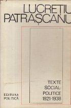 Texte social-politice (1921-1938)