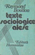 Texte sociologice alese