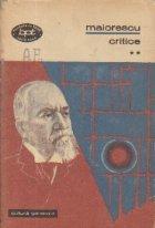 Titu Maiorescu - Critice, Volumul al II-lea