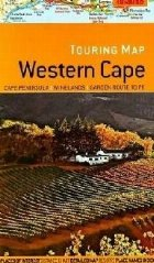 Touring map Western Cape
