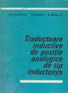 Traductoare inductive de pozitie analogice de tip inductosyn