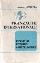 Tranzactii internationale - Politici, tehnici, instrumente