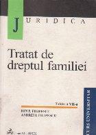 Tratat de dreptul familiei. Editia a VII-a
