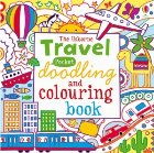 Travel pocket doodling and colouring