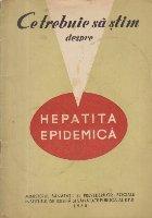 Ce trebuie sa stim despre Hepatita Epidemica