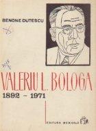 Valeriu L. Bologa 1892-1971