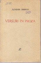 Versuri In Proza