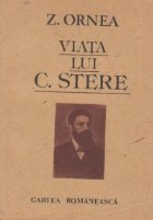 Viata lui C.Stere, Volumul I