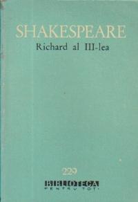 Viata si moartea regelui Richard al III-lea