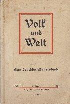 Volk und Welt - Das Deutsche Monatsbuch, Februar 1935