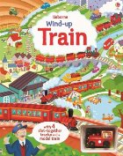 Wind train book with slot