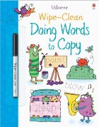Wipe clean doing words copy