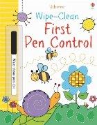 Wipe-clean first pen control