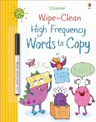 Wipe clean high frequency words