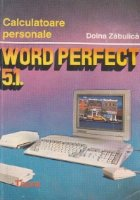 Word perfect 5.1.
