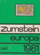 Zumstein Briefmarken-Katalog 1981